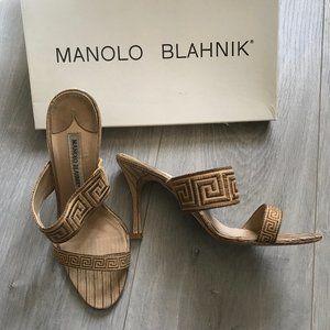 COPY - Manolo Blahnik Geometric Sandals